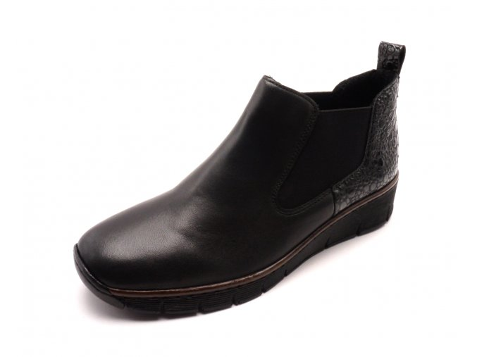 Dámské kotníkové boty na klínku 53794-00