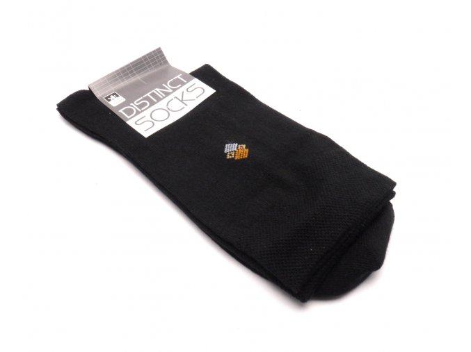 Ponožky distinct černá - kosočtverec 1