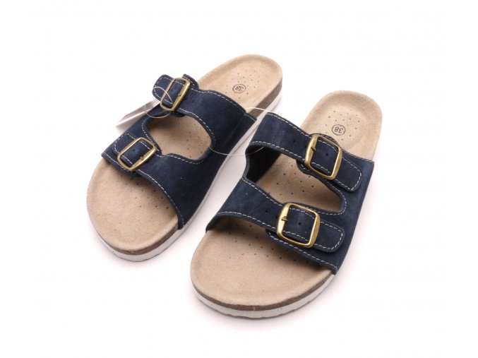 Domácí pantofle m2242 modré