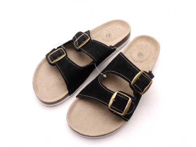 Domácí pantofle m2242 černé
