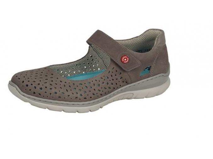 Dámská polootevřená obuv l3255-44