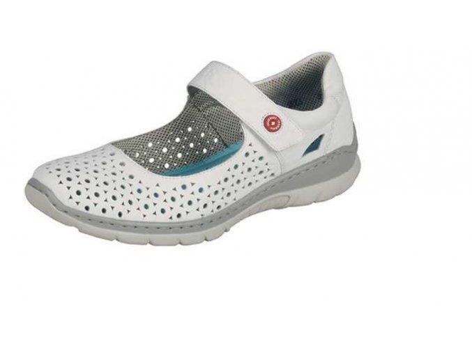 Dámská polootevřená obuv l3285-80