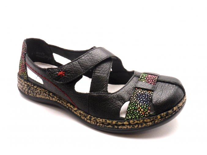 Dámské pohodlné sandály 46367-00