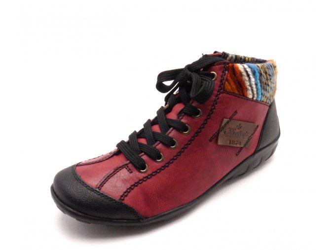 Dámská kotníčková obuv L6540-00