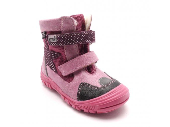 Dětská zimní obuv 315/1/N2 Fuxia