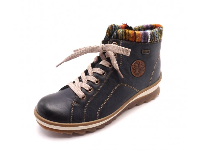Dámské kotníkové boty s pleteninou K4370-14
