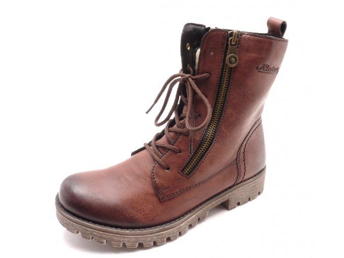 Dámské kotníkové boty 785C4-35