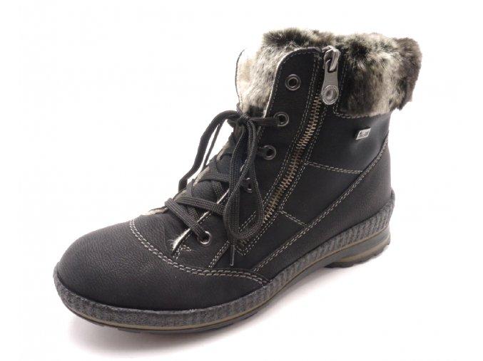 Dámské kotníkové zimní boty Z2431-00