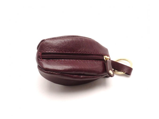 Malá peněženka s klíčenkou 4284 RED