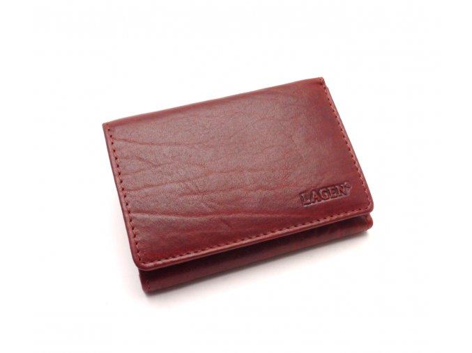 Dámská kožená peněženka LM-2521/T RED
