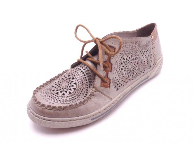 Krásná perforovaná obuv 42443-62