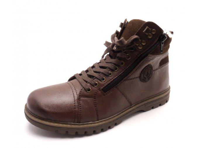 Pánská zimní kotníková obuv F3123-24