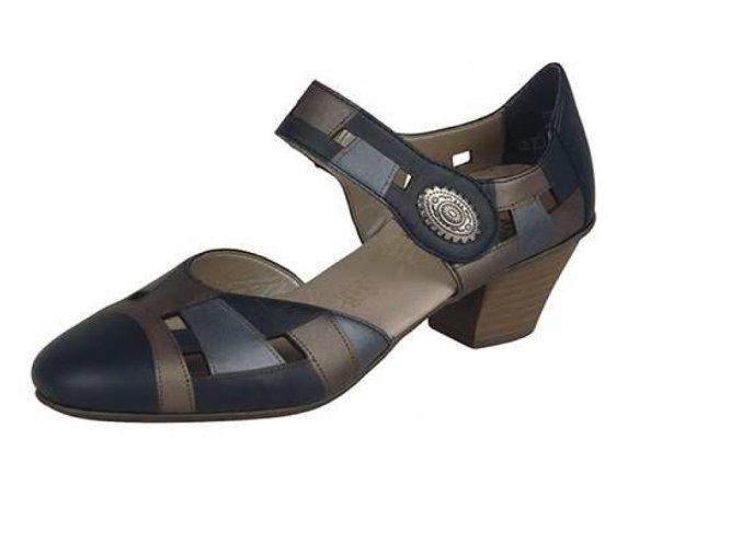 Elegantní dámská perforovaná obuv 45064-14