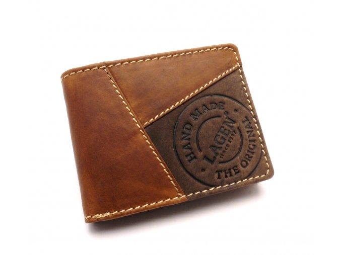 Pánská kožená peněženka 51148 TAN