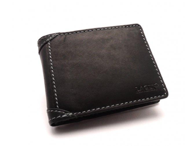 Pánská kožená peněženka 511461 BLACK
