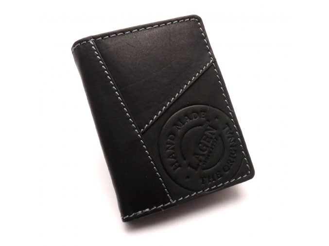 Pánská kožená peněženka 51145 BLACK