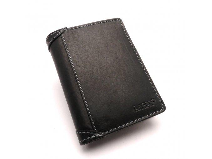 Pánská kožená peněženka 51146 BLACK