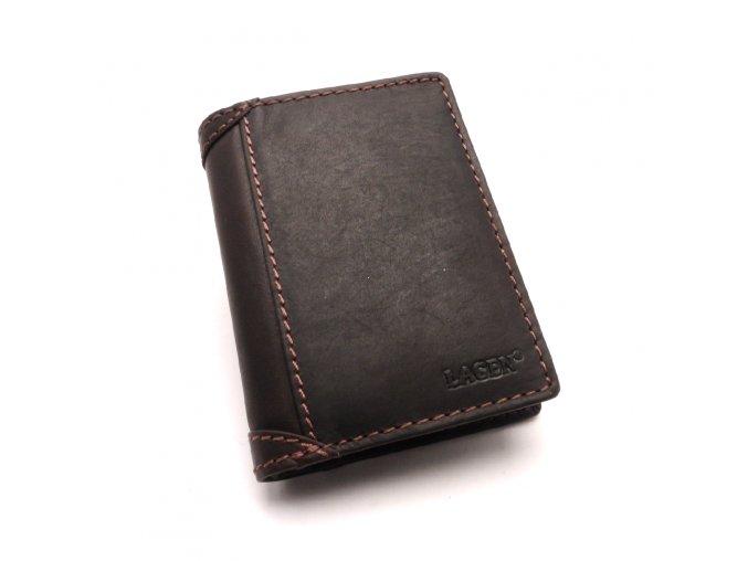 Pánská kožená peněženka 51146 BROWN