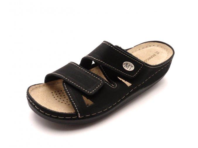 Dámské kožené pantofle 2-27512-20-001