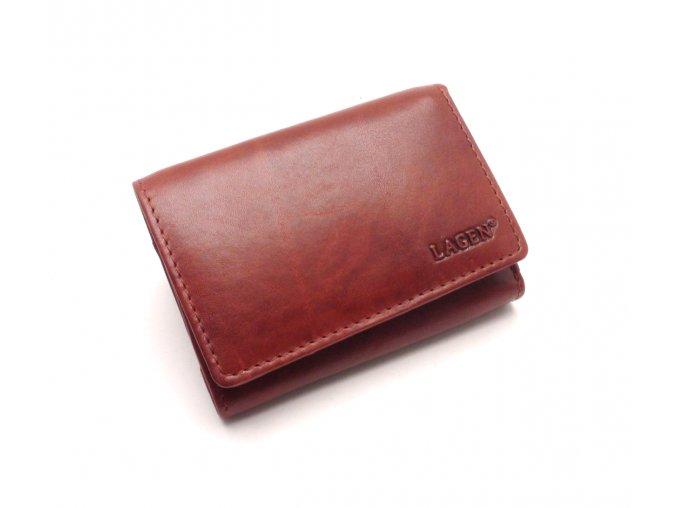 Dámská kožená peněženka LM-2520/T RED