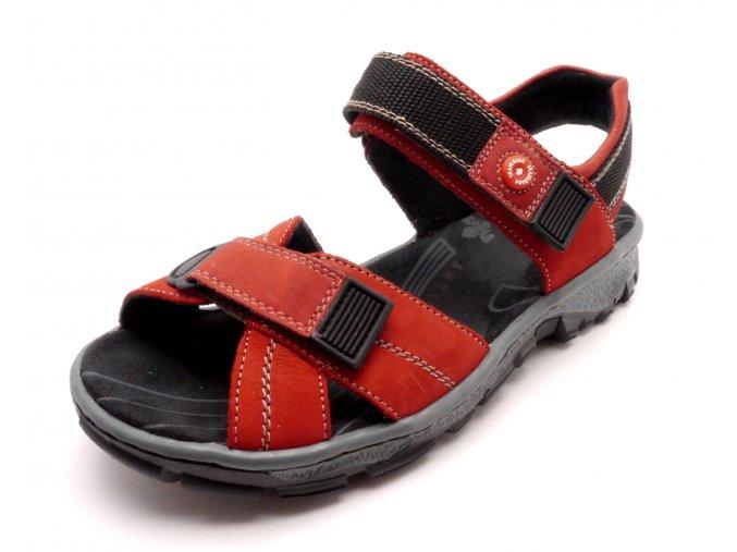 Dámský velice pohodlný sandál 68851-33
