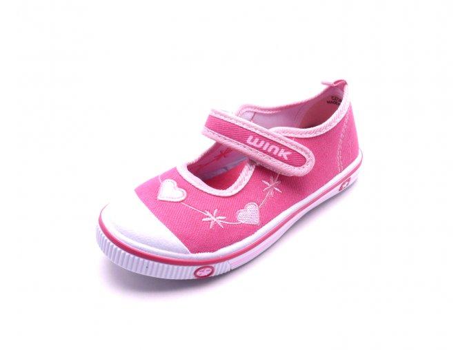 Dětské růžové tenisky CZ7260-1