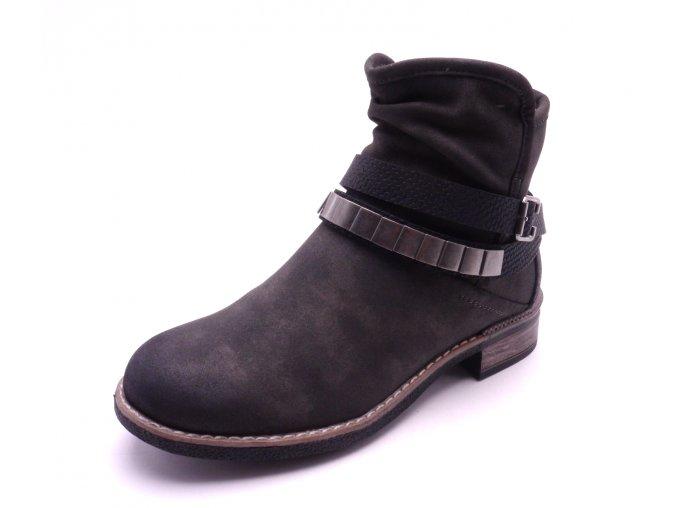 Dámská kotníčková šedá obuv 94671-45