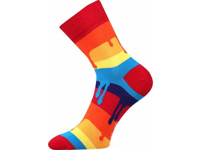 ponozky barvy nizke
