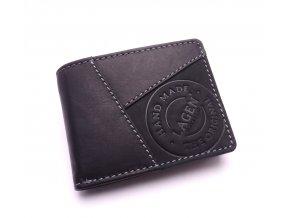 Pánská kožená peněženka 51148 BLACK