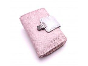 Dámská peněženka 4495 PLUM/SIL