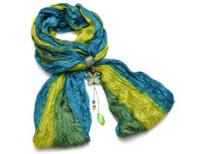 Šátek s motýlem - varianta 10