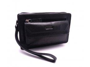 Pánská kožená taška LM-022 BLACK