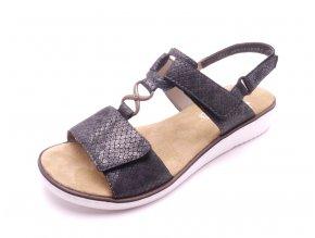 Dámské hadí nazouvací sandály 63687-45