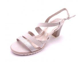 Dámské DUNE COMB sandály na podpatku 2-28705-435