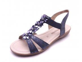 Dámské sandály s kytičkami R3633-14