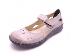 Dámské kožené sandály 911250