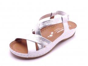 Dámské kožené sandály 1267