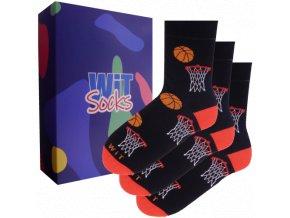 Dárkový set - Sporty - ponožky Basketbal