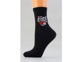 Ponožky D012 Kočička