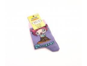Ponožky H1804 - fialová