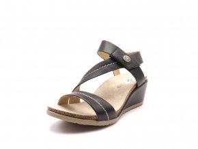 Dámské sandály na klínku c152-8