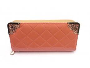 Krásná peněženka v lososové barvě MCPVZR51
