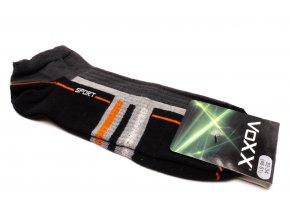 Ponožky Rex - tmavě šedá