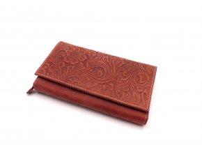 Dámská peněženka s ornamenty D175-38