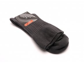 Ponožky tmavě šedé extra jemný svěr