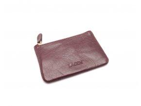 Malá peněženka s klíčenkou K-2 RED