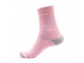 Ponožky Televizorky světle růžové
