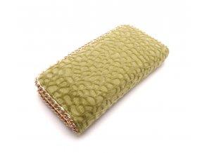 Chlupatá peněženka zelená MCPVCH-97