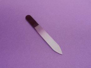 Skleněný pilník fialový