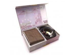 Dárkové balení peněženka a opasek
